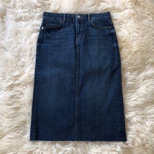NWOT Zara Denim Skirt - $30 (size S)